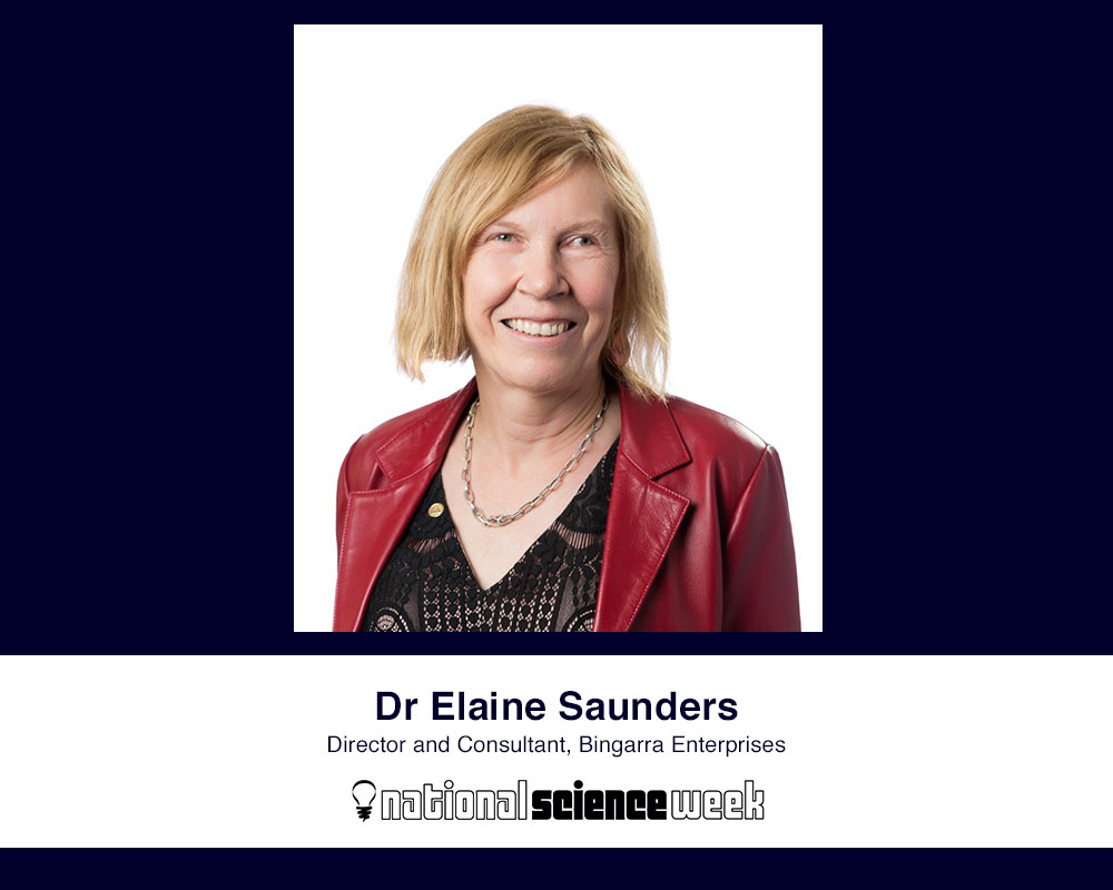 Celebrating National Science Week| Q&A with Dr Elaine Saunders